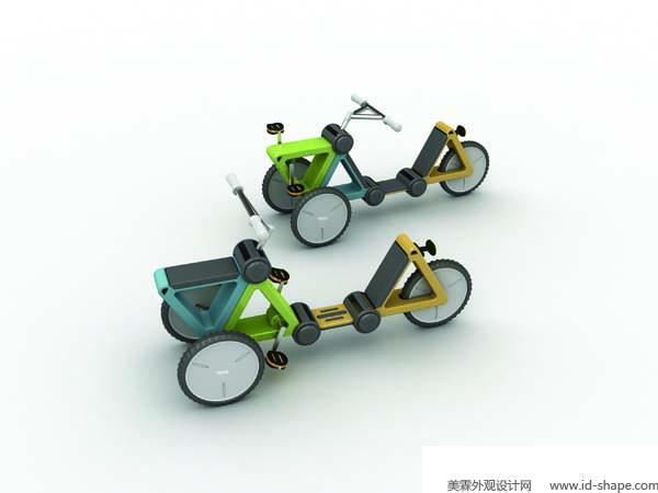儿童三轮车 (2)