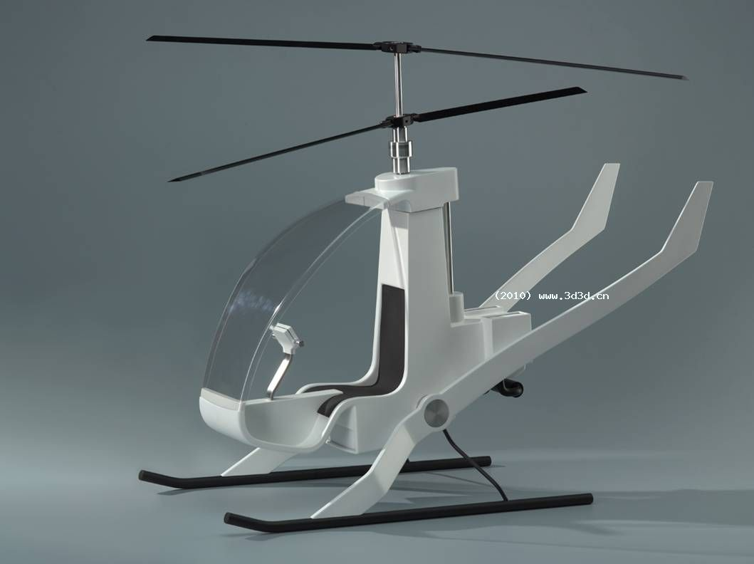模型直升机设计图